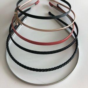 Set of 6 Jcrew Headbands